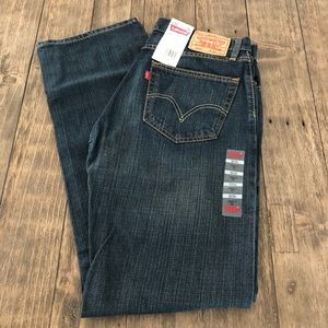 NWT Levi's 505 Straight Fit Mens Jeans 32 X 34 New
